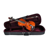 01-H-AS-045-V1/2 Schroetter Violin Outfit, 1/2 Size, Includes Case And Bow, Student Model