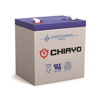 Chiayo Spare 12V 2.7aH rechargeable battery to suit the Focus 500/505 (and Smart series)