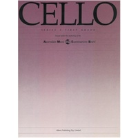 CELLO GRADE 1 SERIES 1 AMEB
