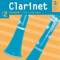 CLARINET GRADE 1 TO 2 SERIES 2 AMEB CD/NOTES