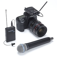 Samson Wireless Concert 88 Camera Combo UHF Wireless System