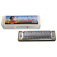 15-62980 Hohner 502/20/C Alabama Blues Harmonica