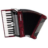 BRAVO II 48 RED ACCORDION