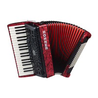 BRAVO III 96 RED ACCORDION
