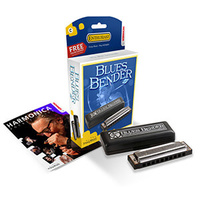 15-M58503XS BLUES BENDER HARMONICA D