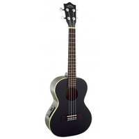 15-ULU21TEBK Lanikai Tenor Size Ukulele With Nato Top Back And Sides, Black *AVAILABLE WHILE STOCK LASTS*