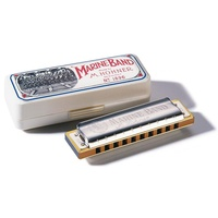 Hohner 1896DB Marine Band Classic Harmonica in the Key of Db