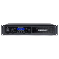 Samson Audio SXD3000 Stereo 450 watt power amp with DSP