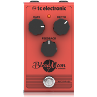 TC BLOODMOON VINTAGE STYLE PHASER GUITAR PEDAL