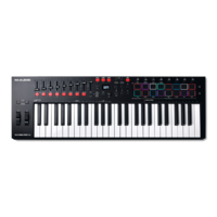 M-Audio Oxygen Pro Series 49 Note USB Keyboard w/Launch Pads