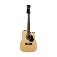 Ibanez PF1512 NT Acoustic 12 String Guitar