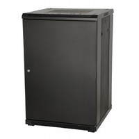 "Gator Grw3022509 22U, 23"" Deep Rack W/Glass Door"