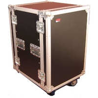 Gator G-Tour 14U Cast Wood Flight Rack Case