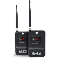 Alto Professional Stealth Expander Pack includes Two UHF Receivers