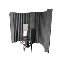 Auralex MudGuard II: Mic Isolation Shield and Mount