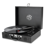 Numark PT01 Touring: Portable Turntable with Speakers