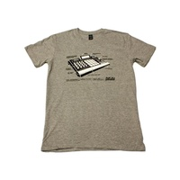 Akai Professional T-Shirt: MPC Ren - Medium Grey