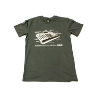 Akai Professional T-Shirt: MPC Ren - Small Charcoal