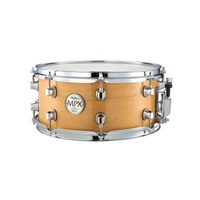 Mapex Hardware MPX Snare Birch 14x5.5 Gloss Natural w/ Chrome HW