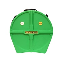 "Hardcase 22"" Cymbal Case Light Green - holds 9 cymbals"