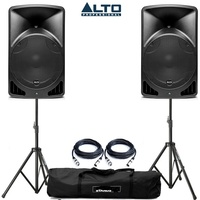 ALTO TX215 Speakers (Pair) 1200W Speaker Pack