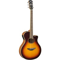 YAMAHA APX700II BROWN SUNBURST ELECTRIC-ACOUSTIC GUITAR