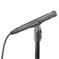 Audio Technica Cardioid condenser mic for stringed instruments. (Inc: mic clip, wind shield and bag)