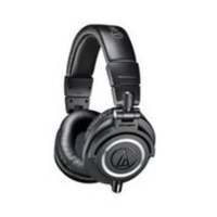 Audio Technica Premium M50x studio Headphones Black