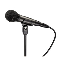 Audio Technica Cardioid dynamic vocal mic for smooth natural reproduction. (Inc: AT8470 clip)