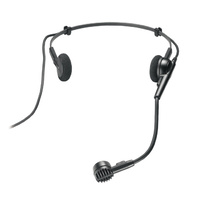 AUDIO TECHNICA  Mini headworn cardioid condenser for front of mouth (Inc: AT8139L/8139S screens, 8439 clip)