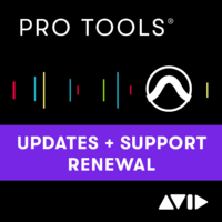 Pro Tools 1-Year Software Updates + Support Plan RENEWAL