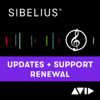 Update and Support Plan Renewal for Sibelius