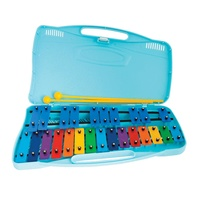 ANGEL AX25K 25 NOTE CHROMATIC GLOCKENSPIEL WITH PLASTIC CASE & BEATERS
