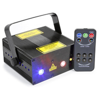 BIANCARGB Double Laser with IR Remote Control