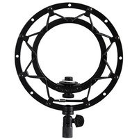 Suspension Mount for Snowball microphone-Blackout finish