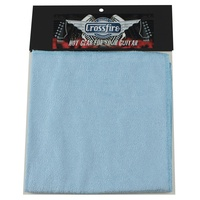 Crossfire Guitar Cleaning Cloth (Blue)