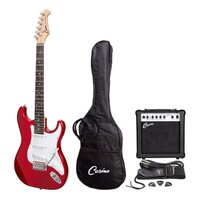 Casino Electric Guitar and Amplifier Pack (Wine Red)