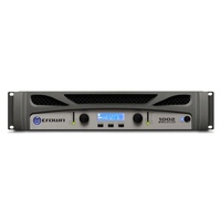 CROWN CRN-XTI1002 Power Amplifier 2x500w 4 Ohms In-built DSP; Front Panel LCD USB PC Connection