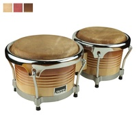 "Drumfire Elite 7.5"" & 8.5"" Wood Bongos"