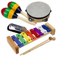 Drumfire 4-Piece Educational Hand Percussion Pack