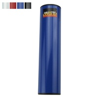 "Drumfire 8"" Cylindrical Metal Shaker Hand Percussion"
