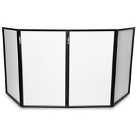 VONYX DJ SCREEN FOLDABLE DJ FACADE – 4 LYCRA PANELS
