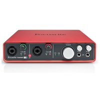 Focusrite Scarlett6i6: USB I|O 2 Mic Pre, 6 in 6 out