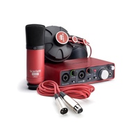 FOCUSRITE 2I2 STUDIO BUNDLE- MIC &  H/P