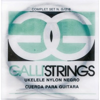 GALLI UKULELE STRINGS BLACK