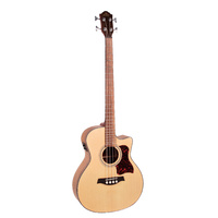 GILMAN Grand Auditorium electric/acoustic Bass. Natural satin.