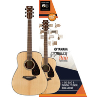 YAMAHA GIGMAKER800 ACOUSTIC GUITAR PACK MATTE
