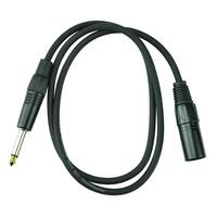 Handy Patch 1m Male XLR to Male Phono Cable