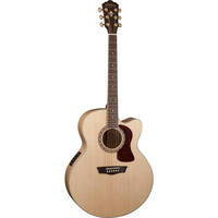 Washburn HJ40SCE Heritage 40 Jumbo Acoustic-Electric Guitar w/ Cutaway & EQ