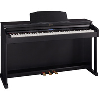 Roland HP-601 Home Piano with Bench - Classic Black